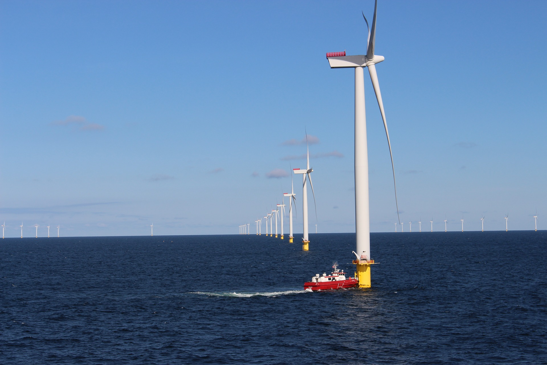 Denmark, the artificial islands to produce renewable energy